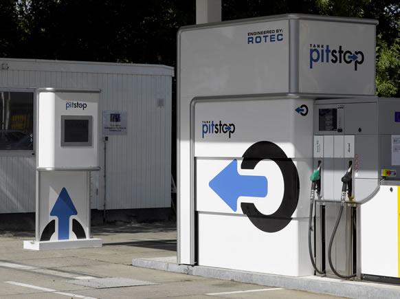 Autofuel station