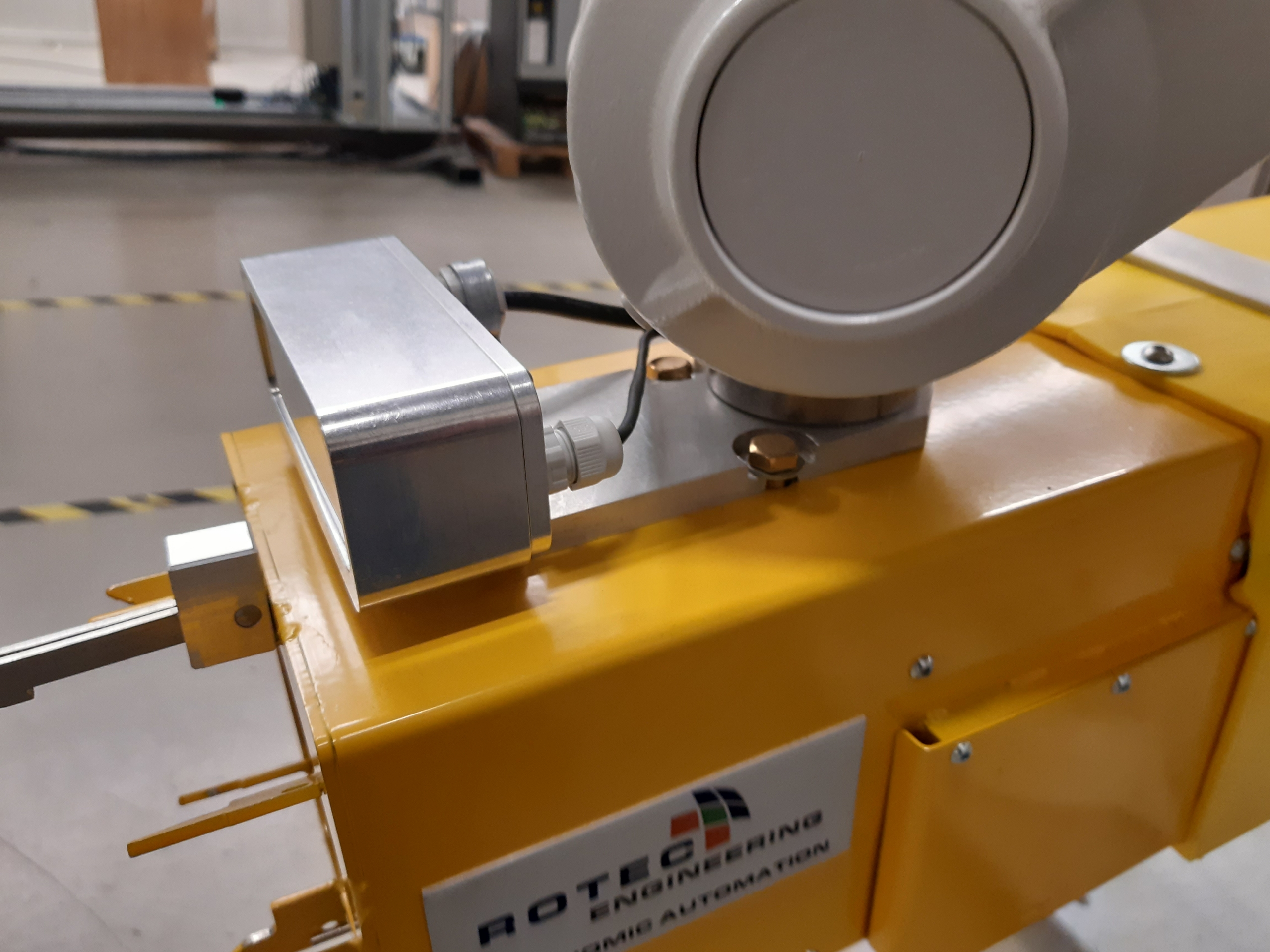 LNG robotic fuelling sytem